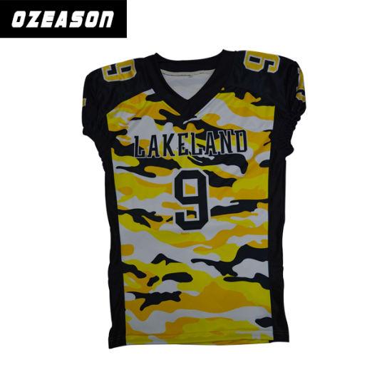 c2f4eae40 China Custom Design American Football Uniforms