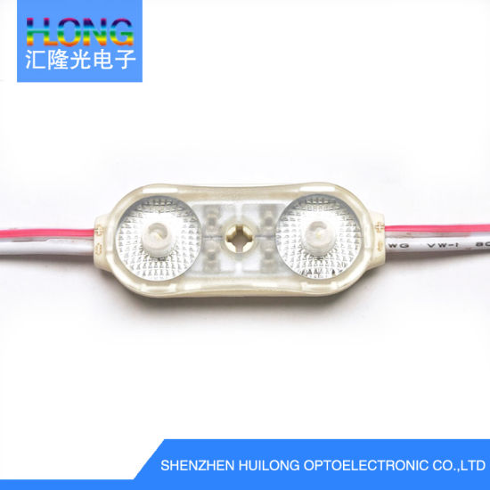 High Brightness 1W 150lm IP68 DC 12V Waterproof LED Module for Signs