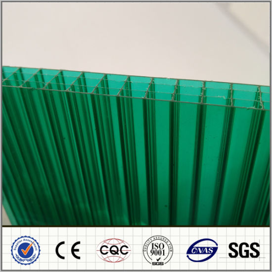 Factory Supply All Size Four-Layer Polycarbonate Hollow Sheet pictures & photos