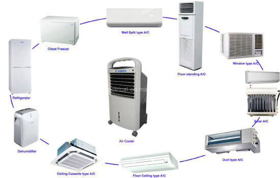 Alternating Current R410A Inverter Air Conditioning pictures & photos
