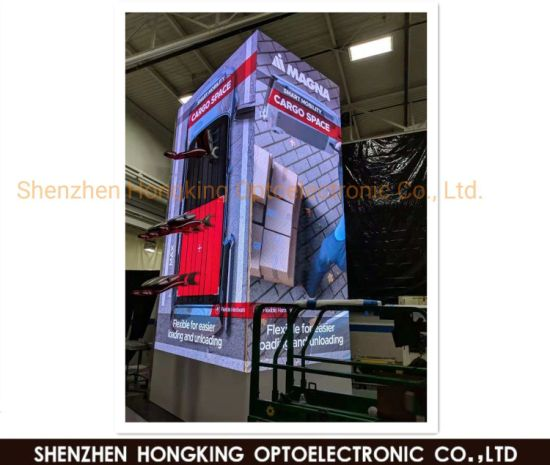 500*500/1000mm Cabinet P2.604mm HD Full Color LED Custom Screen Background