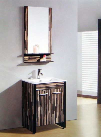 Corner Bathroom Mirror Cabinet Floor Standing Bath Room Th0931