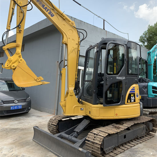 Good Condition Used PC55 Crawler Excavator for Sale