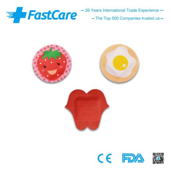 Ce FDA Custom Printed Cartoon Spot Adhesive Bandage