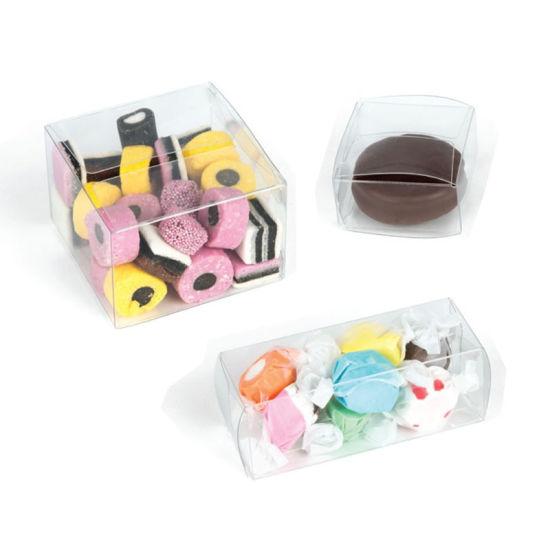 Transparent Pet PVC Packaging Clear Plastic Folding Gift Box