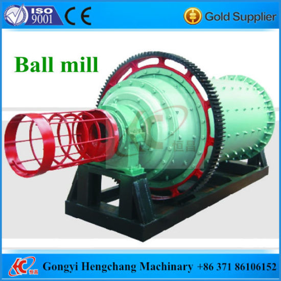 China Best Quality Ball Mill with Steel Balls pictures & photos