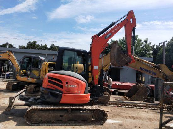 Excellent Working Performance Used Kubota Kx163 Crawler Excavator in Shanghai