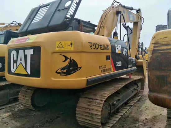 High Quality and Good Condition Used Caterpillar Cat320 Crawler Excavator for Sale