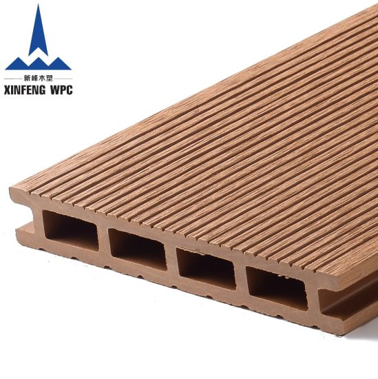 Maintenance Free Anti-UV WPC Decking with EU Certificates