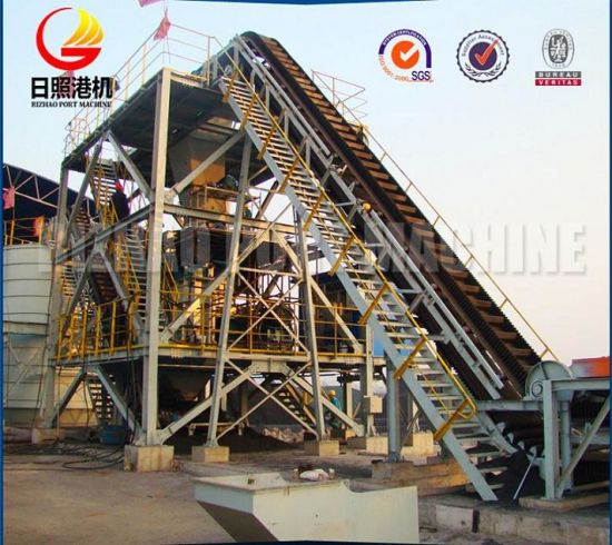 SPD Wood Chip Conveyor Belt System, Belt Conveyor pictures & photos