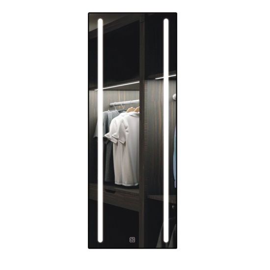 Miclion Factory LED Lighted Bathroom Floor Full Length Dressing Body Mirror Wall Mounted