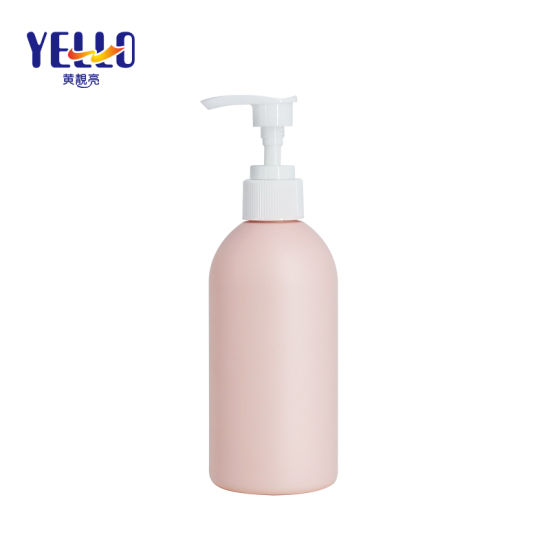 250ml Pink Shower Lotion Bottles Hand Sanitizer Dispenser Pump Containers