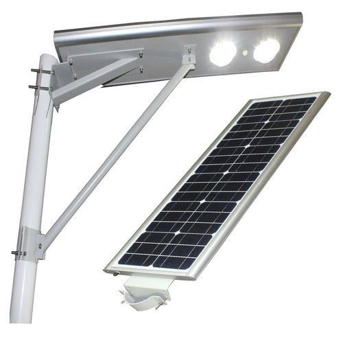 100W Integrated LED Solar Street Light Solar All in One with Outdoor Camera