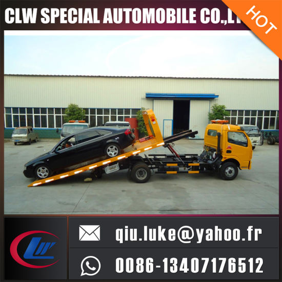 china dongfeng 4 2 emergency flatbed tow truck china tow truck rh cn truck en made in china com