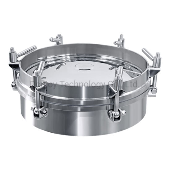 Stainless Steel 10 Bar Round Pressure Manhole Cover pictures & photos