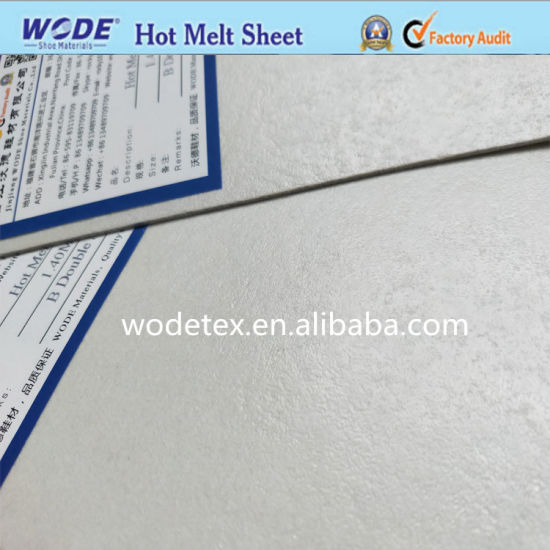 Hot Melt Sheet with Glue on Double Side for Shoe Making (0.6mm-2.0mm)