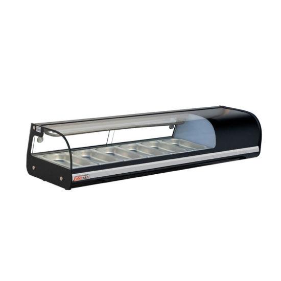 Sushi Bar Refrigeration Equipment Used Display Cooler Cake Freezer 4pan
