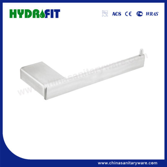 S. S304 Good Quality Nick Brushed Glass Shelf (BAS3490)
