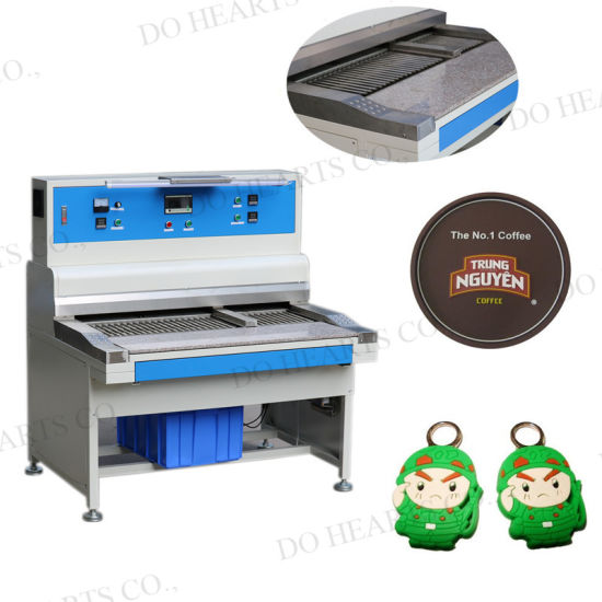 Liquid Silicone PVC Machine Oven for Badge Label Logo/Rubber Patch/Keychain/Luggage Tag Baking