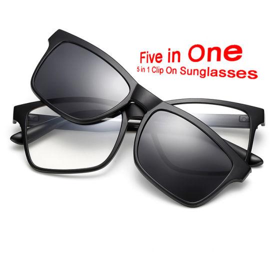 Magnetic Polarized Stock Multicolor Clip on Sunglasses