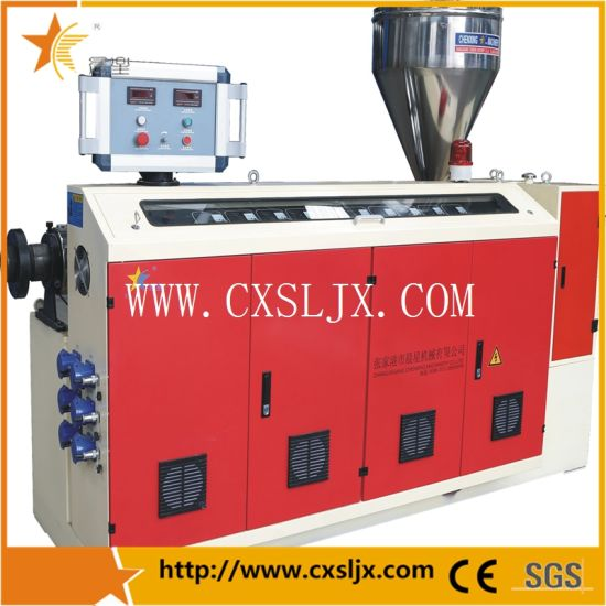 Plastic Machine Sj75 Single Screw Extruder pictures & photos