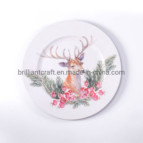 Collectible Deer Decorative Restaurant Chinese Serving Dishes