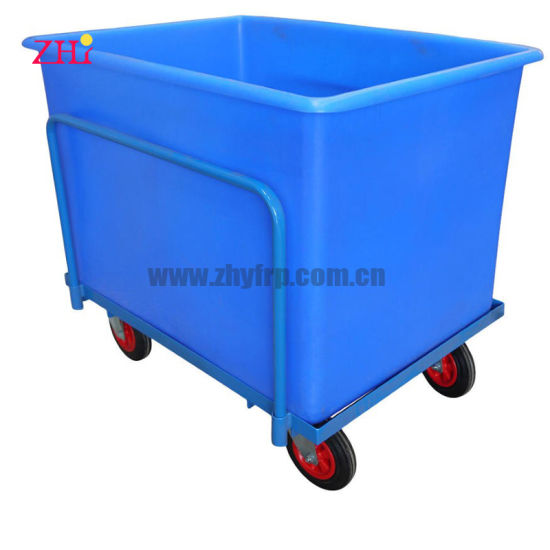 Custom Made Fiberglass Reinforced Plastic Transportation Container FRP Delivery Box