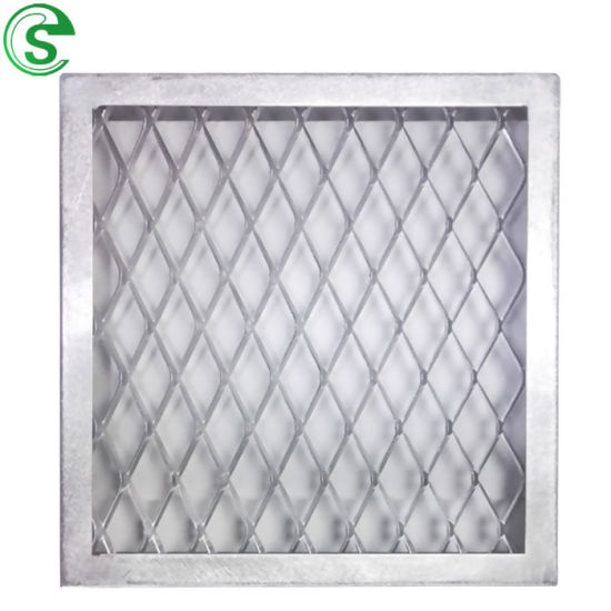 Decorative Anodize Aluminum Expanded Metal Mesh for Curtain Wall