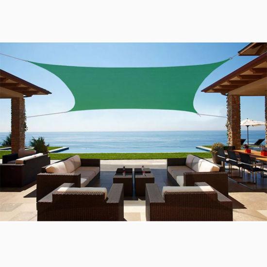 HDPE Swimming Pool Shade Sail, Garden Sun Shade Sail Cloth