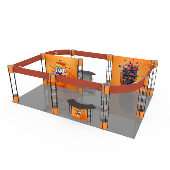 Simple Installation Non-Standard Aluminium Exhibition Trade Show Truss Display