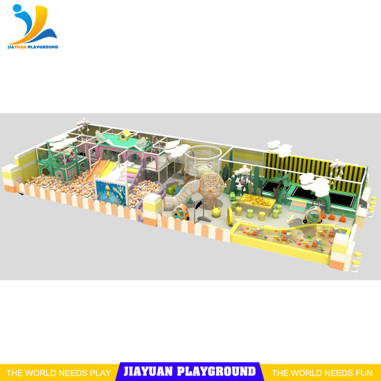 Indoor Playgrounds Trampoline Bed Directly From Manufacturers, Children Soft Play Area