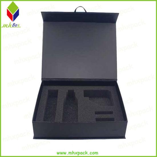 Custom Black Magnetic Hair Packaging Box