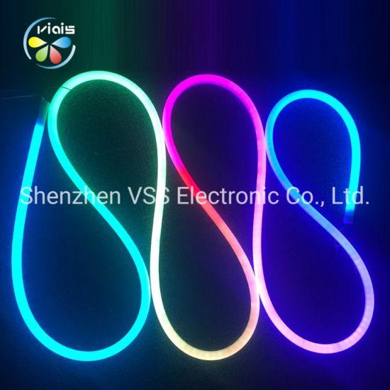 24V 12V Neon Round LED Strip Light 5050
