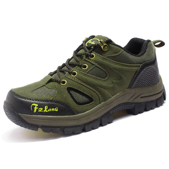 Service Large Size Customized OEM Outdoor Gear Hiking Women Shoes pictures & photos