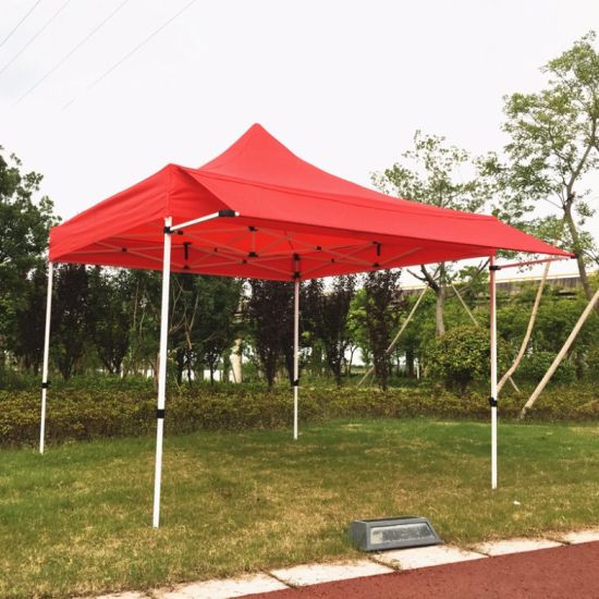 China 3x3m New Design Pop Up Canopy Tent With Awning Flap China