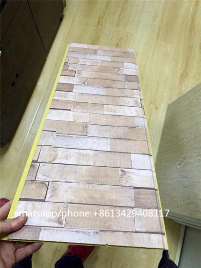China Brick Pattern Laminated 8mm Pvc Wall Sheet China Pvc Panel