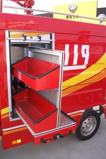 Automatic Aluminium Fire Truck Part Accessories Vertical Pallet