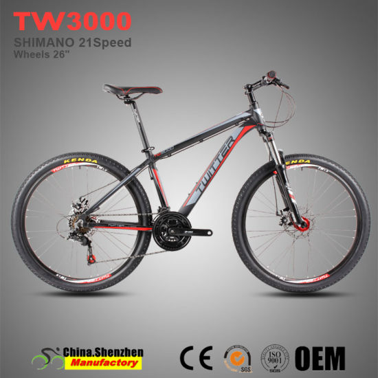 Aluminum Alloy Mountain Bike 21speed Shimano Ef51 Aluminum Bicycle