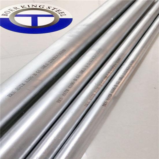 Hot Galvanized Round Steel Railing Pipe /Tianjin Gi Pipes Galvanizado