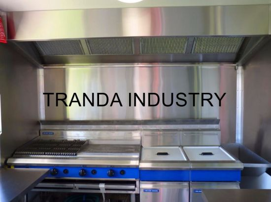 New Hot Dogs Hamburgers Tacos Fries &More Stainless Steel All in One Food Cart pictures & photos