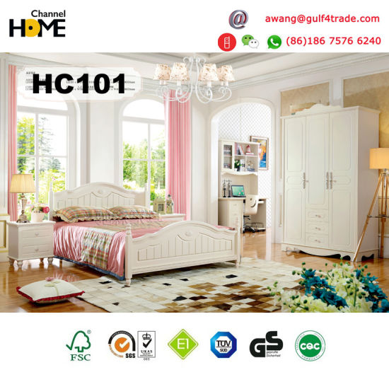 Home Furniture Solid Wood Kids Bed For Children Bedroom A101