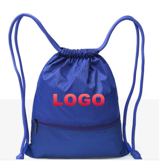 46c92572a6 2018 Backpack Drawstring School Bag for Teenagers Student 42 50cm Outdoor Gym  Back Pack Package