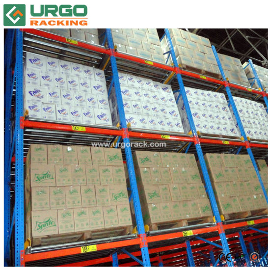Gravity Pallet Racking High Quality Heavy Duty Roller Pallet Rack for Sale