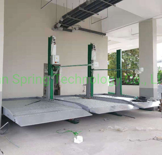 2.3 2.7 Ton Ton Car Parking Lift with 2000mm Lift Height Auto Parking Lift Parking Equipment