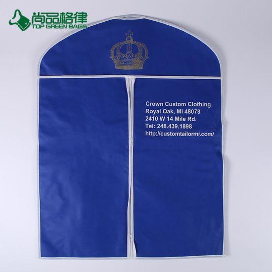 Wholesale High Quality Reusable Non Woven Foldable Travel Garment Bag