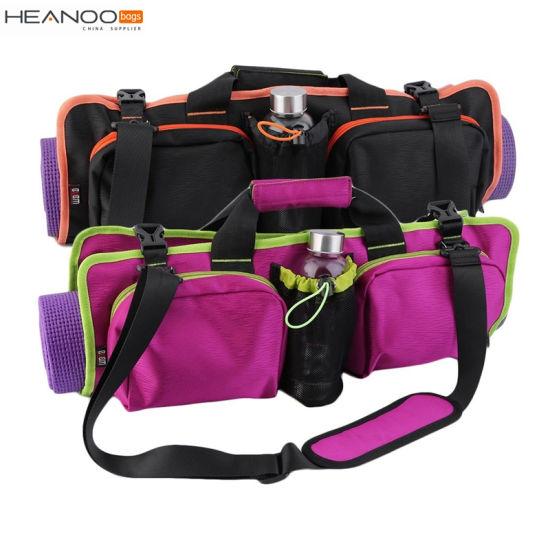 c55f64ee6e Multifunctional Folding Portable Shoulder Waterproof Upscale Gym Duffle Yoga  Mat Bag