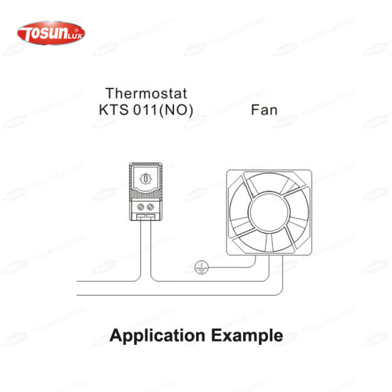 Thermostat for Regulating Heaters or Filter Fans pictures & photos