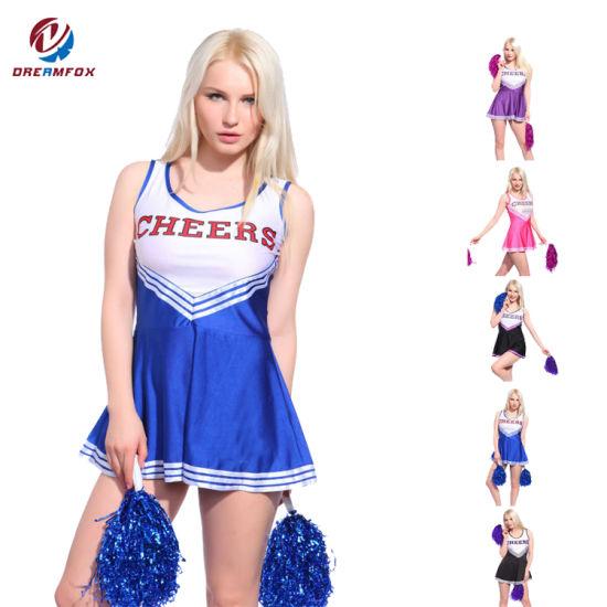 aea0d4d3028 China Wholesale Women Sportswear Custom Sublimated Cheerleading ...