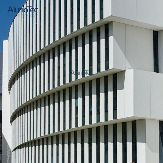 China Aluno Aluminum Veneer Price Aluminium Curtain Wall