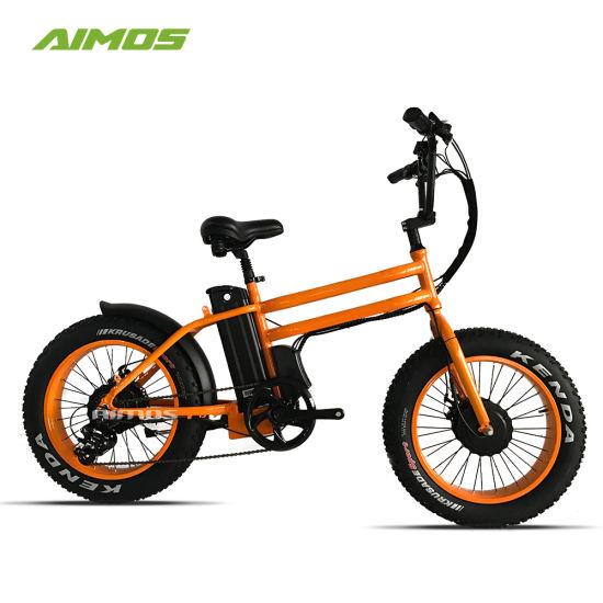 89bf5914285 China 20inch Fat Tire Electric Bike Beach Cruiser Double Motor ...